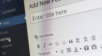 wordpress new post dialog