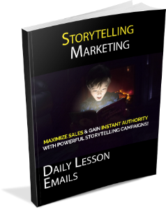 Storytelling Marketing Daily Lessons Book Cover